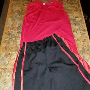 Athletic outfit mix